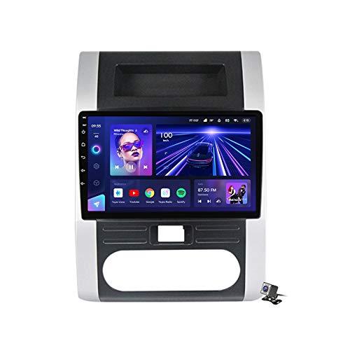 Buladala Android 9.1 GPS Navigation Stereo Radio para Nissan X-Trail 2007-2015, 10,1' Pantalla Coche Media Player Soporte Carpaly/5G FM RDS/Control Volante/Bluetooth Hands-Free,7862: 6+128