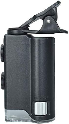 lupa, microscopio portátil Teléfono Móvil En Alta Definición 100 Veces Portable de la joyería Diamond Light Código de la Cintura Jade identificación, identificación de la Moneda, Amantes de la jo