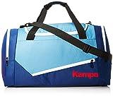 Kempa Unisex-Erwachsene Ebbe & Flut Sporttasche Umhängetasche, Mehrfarbig (Dove Blau/Ocean Blau),...