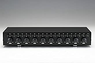 10 ZONE / PAIR Speaker Selector Switch Switcher with Volume / Level Control SPECIALTY-AV
