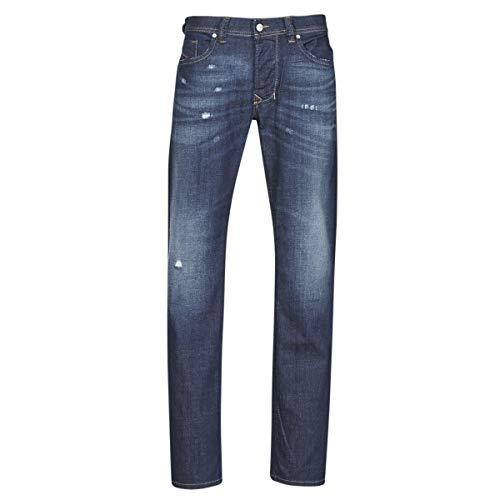 Diesel Herren Jeans Larkee Regular Fit 087AN Gr. 30 W/32 L, Midblast