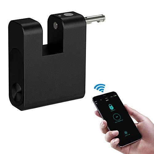 Adaskala BT Smart Keyless Lock APLICACIÓN A Prueba de Agua Desbloqueo Antirrobo Candado Puerta Equipaje Caja Bloqueo de taquilla para Sistema Android iOS