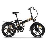Bicicletta elettrica Fat Bike E-Bike RKS RSIII PRO pieghevole 250W 36V