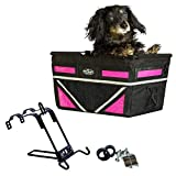 Travelin K9 Pet-Pilot MAX Dog Bicycle Basket Carrier   8 Color Options for Your...