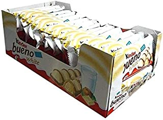 kinder bueno calories white