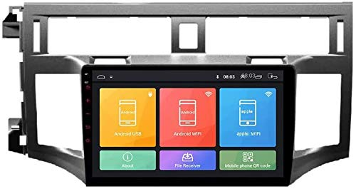 Android 10 GPS Navegación para Toyota Avalon 2006-2010, IPS Touch Screen Car Stereo, Sat Nav Multimedia Player Player Cámara de Vista Trasera