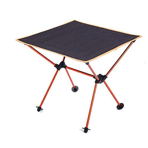 1yess Tragbare Folding Picknick-Tisch-Legierung Tragbare Leichtbau Im Freien Tabelle Camping Tisch im Freien beweglicher Tisch Picknick-Grill Klapptisch Hubtabelle Strand Tabellen for Sand 8bayfa