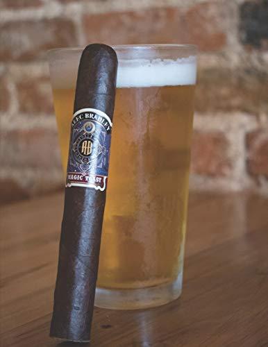 Meine perfekte Zigarre: Logbuch um deine Zigarren zu bewerten ♦ Dokumentiere sämtliche Aromen, Optik, Geschmäcker ♦ Im großzügigen A4+ Format für alle ... ♦ Motiv: Zigarre & Bier