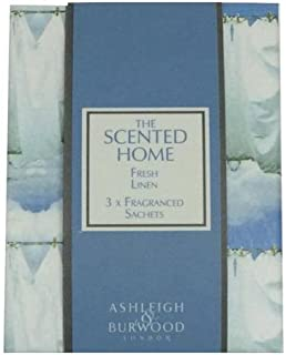 Ashleigh&Burwood サシェ×3個 フレッシュリネン Sachet×3 Fresh Linen アシュレイ&バーウッド