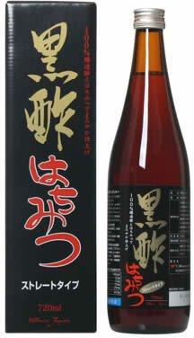 黒酢はちみつ ストレート 720ml 瓶