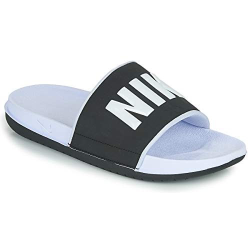 Nike Offcourt Slide Zuecos Mujeres Blanco/Negro - 39 - Chanclas Shoes