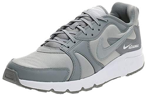 Nike Zapatillas de correr para hombre, color negro, mujer 2, gris (Gris Partículas/Lt Smoke Gris/Blanco), 43.5 EU