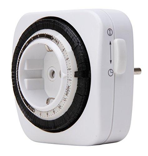 Kopp 195202078 Zeitschaltuhr mechanisch kompakt weiß