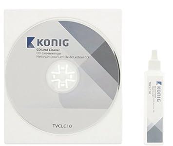 Konig - Líquido De Limpieza De Lector De CD De 20 Ml