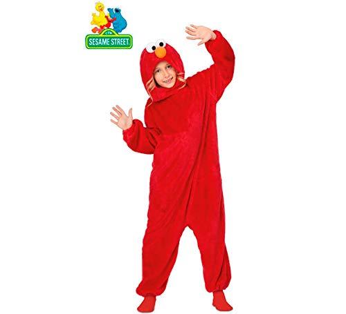 Barrio Sésamo Disfraz Pijama de Elmo para niños