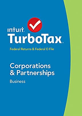 TurboTax Business 2014 Federal + Fed Efile, Corp & Partnership, Estates & Trusts Tax Software - 424567