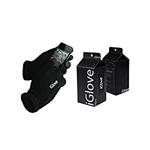 iGlove Unisex Touch Screen Knit Glove Hand Warm for IPhone IPad Blackberry Samsung HTC and Other Smartphones PDA, One Size