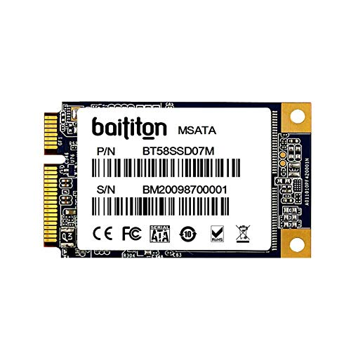 BAITITON MSATA III 120GB SSD Internal Solid State Drive
