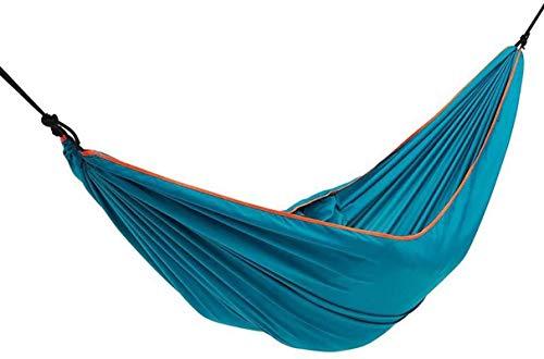 MCE Hamaca portátil al aire libre para adultos y niños, para dormir, columpio y plegable (color: A)