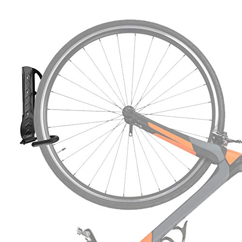Annjom Colgador de exhibición de Bicicleta Resistente Que Ahorra Espacio, Soporte de Pared para Bicicleta, Bicicleta para niños para Bicicleta de montaña, Bicicleta de Carretera, Bicicleta híbrida