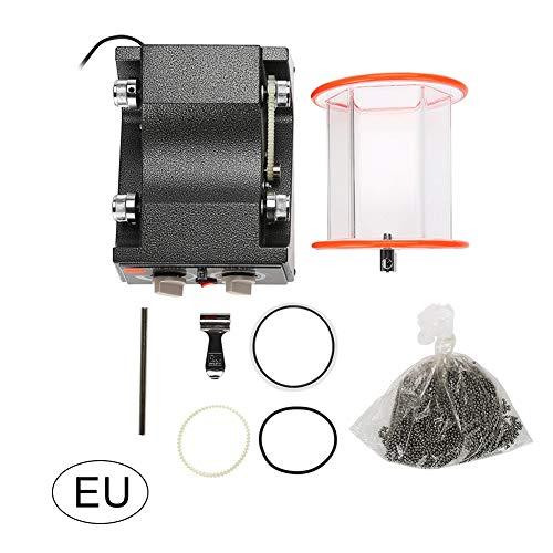 Rotary Tumbler sieradenpolijster, professionele sieradenpolijstmachine, polijstkraalreiniger KD-6808 US-stekker, ideaal voor brillen, horloges, oorbellen, ring en meer EU-Plug