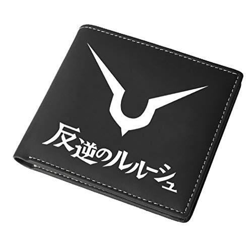 WANHONGYUE Code Geass Portefeuille en Cuir Artificiel pour Homme Wallet Impression d'anime / 2