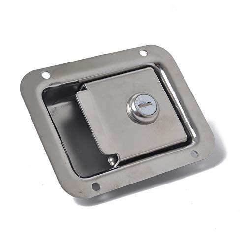 Alta qualità RV Trailer Trailer Block Blocco Porta Ingresso Toolbox Toolbox in Acciaio Inox Resistente allo sbiadimento