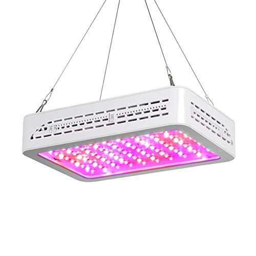 Sawpy LED Grow Light 1000W UV LED lamp volspectrum LED groei voor geneeskrachtige planten, vegetatieve kassen en bloemen binnen of op plaatsen zonder zonlicht