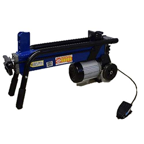 フット式 薪割り機 電動 パイプ式 6t FWS 6TP-52 シンセイ 薪割機 ガーデニング 庭木 伐採 切断 木材 作業