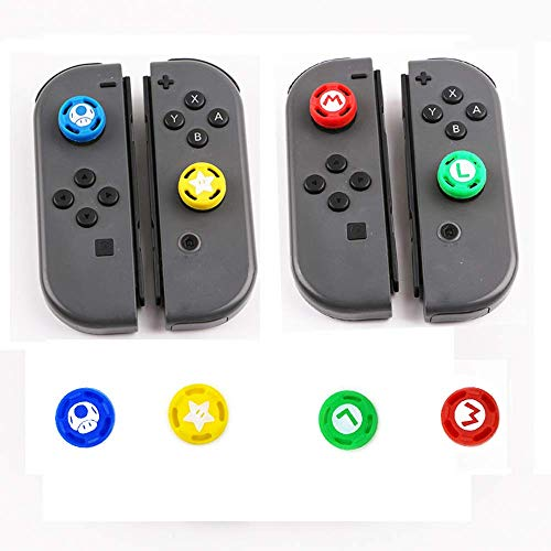 Thumb Grip Set Joystick Cap Thumbstick Cover for Nintendo Switch Joy-Con Controller/Switch Lite Limited Edition
