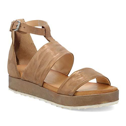 Miz Mooz Saturday Women's Platform Sandal Bronze