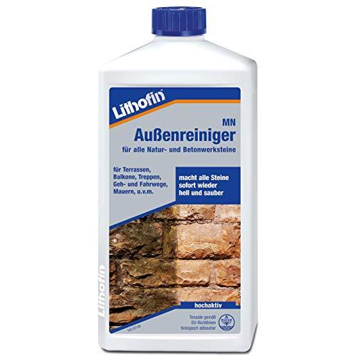 Lithofin MN Außenreiniger 1 Liter - wirkt schnell und gründlich & materialschonend