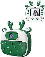 Appareil Photo Enfants de Noël, Dragon Touch Caméra Jouet Numérique avec Double Objectif, Cadeau de Noël avec Papier...