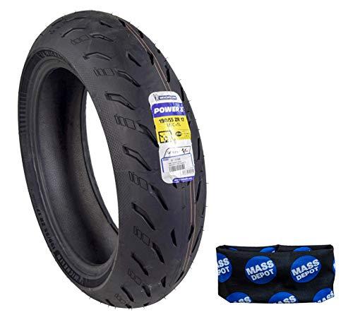 Michelin Pilot Power 5 Radial Sport Bike Motorcycle Tire 190/55-17 (190/55ZR17 Rear)