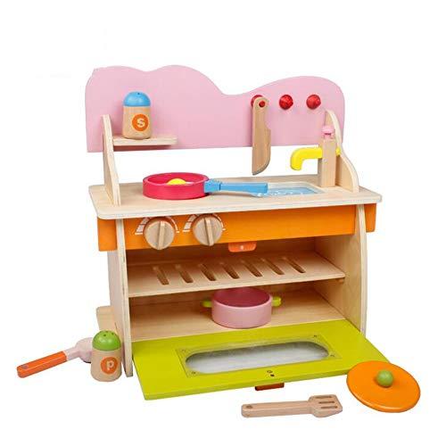 LCY Holz Kindersimulationsspiel Küchenherd Kinderspielzeug Kinderspiele Lernspielzeug Geburtstagsgeschenke