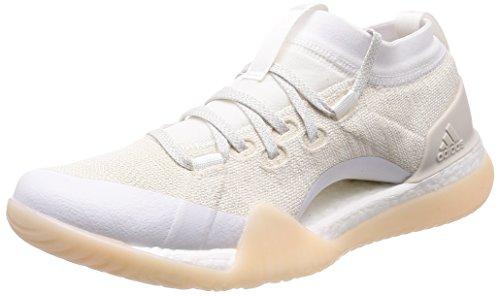 adidas Pureboost X TR 3.0, Zapatillas de Deporte para Mujer, Blanco (Footwear White/Chalk Pearl/Silver Metallic), 37 1/3 EU