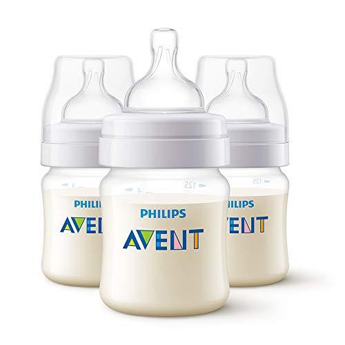 Philips Avent Classic+ Feeding Anti-Colic Bottle 125ml/4oz Triple