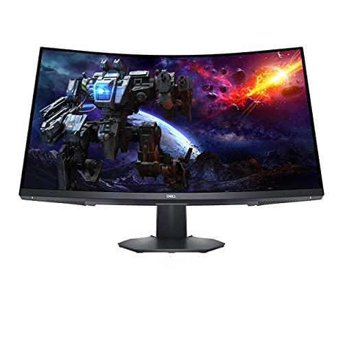 Dell S3222DGM, 31.5 Zoll, WQHD 2560x1440, curved Gaming Monitor, 165 Hz, 16:9, 1ms, 2x HDMI, 3 Jahre Austauschservice, schwarz