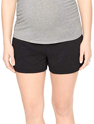 Product Image of the Motherhood Maternity Women's Maternity French Terry Underbelly Short, Solid...