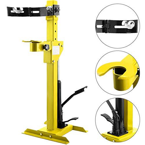 Mophorn KFZ Werkzeug Federspanner 1T(1000kg), Hydraulischer Federspanner, Federbeine Spanner 7-fach Höhenverstellbar
