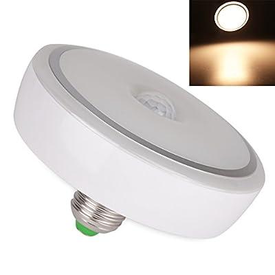 FISHBERG E27 12W PIR Motion Sensor Led Light Auto Switch Ceiling Night Lamp Downlight Motion Detector Led Bulbs