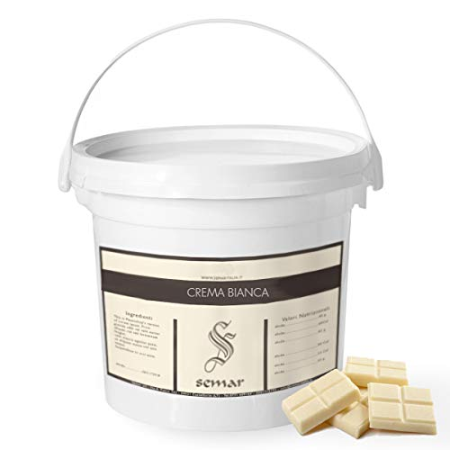 SEMAR Chocolate Blanco - Liquid - para Fuentes de Chocolate 2 Kg