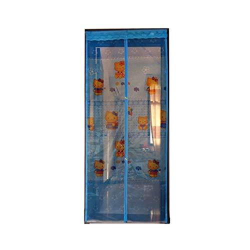 Naxiaottiao Muggengordijnen voor de zomer, met magnetische sluiting, magnetische softscreen-deur, onzichtbare magneetstrips, tegen muggen en zand