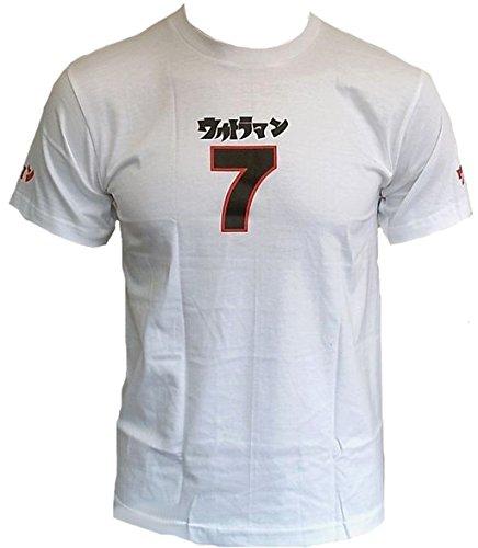 Uv Ultra Violent G5 cm07 T-Shirt Weiss 7 Sept Sieben Nummer Nombre Asie Projet Japon Lucky Sport Club étoile Clubwear T-Shirt Must Have - - 46