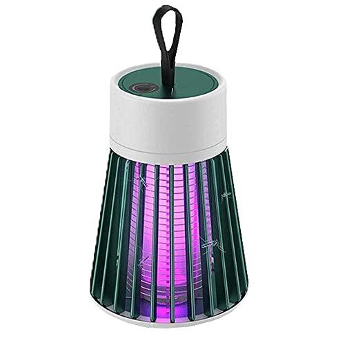 Lupex Shop Lámpara UV Repelente De Mosquitos con Cable USB para Usar En Corriente, Pc O con Banco De Energía
