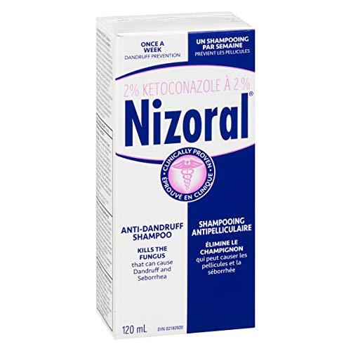 Shampoing Antipelliculaire Nizoral Ketoconazole, 120ml - 6