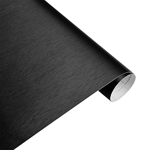 LKXHarleya 30 cmX100 cm Autocollants De Voiture Mat Brossé Voiture Wrap Feuille De Film De Vinyle Bulle Libération d'air Libre Moto Automobiles Autocollants De Voiture Decal