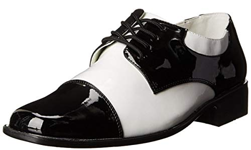 Mens Gangster Shoes Medium Fancy Dress