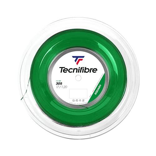 Tecnifibre Cuerdas 305Squash Green, 1,20mm, 200m Rollo, 122372