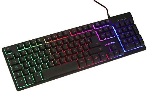 teclado alambrico de la marca HAING